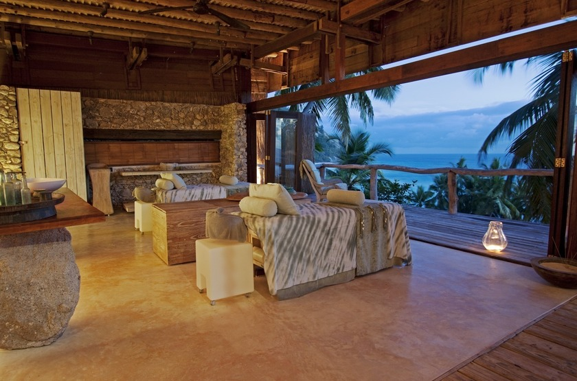 Seychelles   north island   spa slideshow