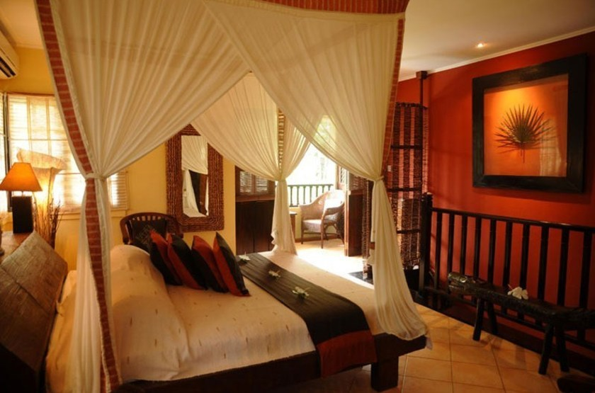 Le Domaine de l'Orangeraie, La Digue, Seychelles, chambre