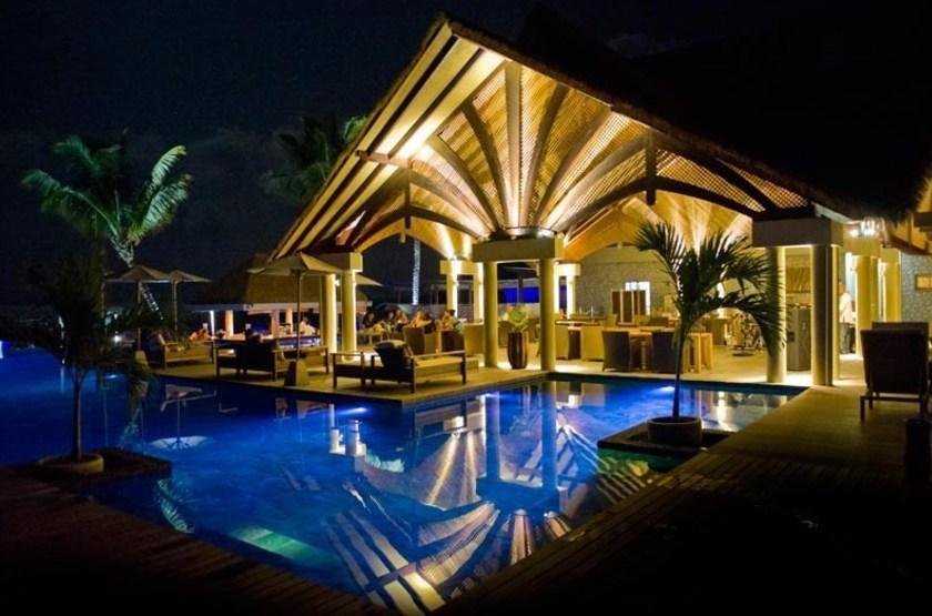 Le Domaine de l'Orangeraie, La Digue, Seychelles, restaurant