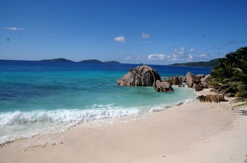 Le Domaine de l'Orangeraie, La Digue, Seychelles, plage