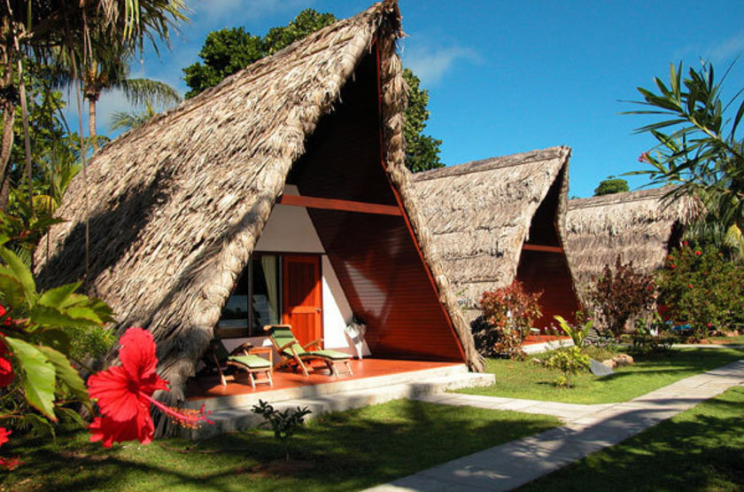 La Digue Island Lodge, Seychelles, chalets