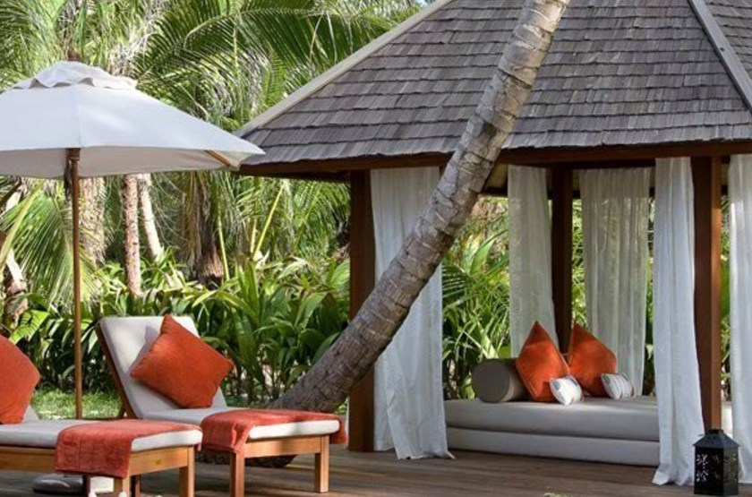 Denis Island Lodge, Seychelles, beach cottage