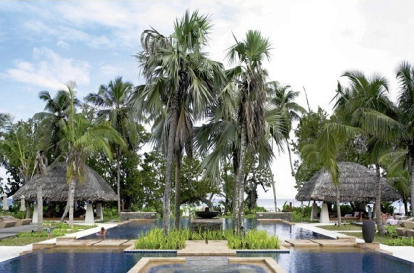 Labriz Island Lodge, Silhouette, Seychelles, piscine