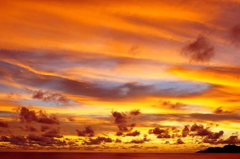 Sunset beach hotel   mah    coucher de soleil slideshow