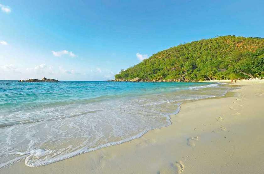 Constance Lemuria Resort, Praslin, Seychelles, plage