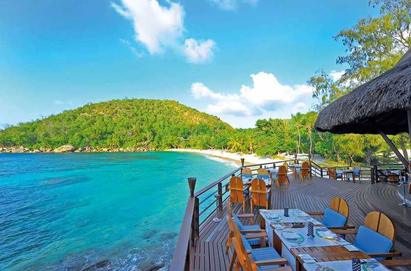 Seychelles   praslin   lemuria resort   beach bar slideshow