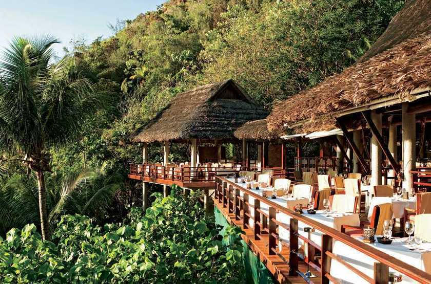 Seychelles   praslin   lemuria resort   restaurant legend slideshow