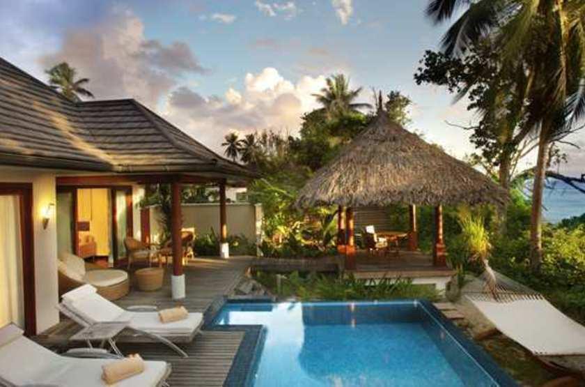 Labriz Island Lodge, Silhouette, Seychelles, villa avec piscine privée