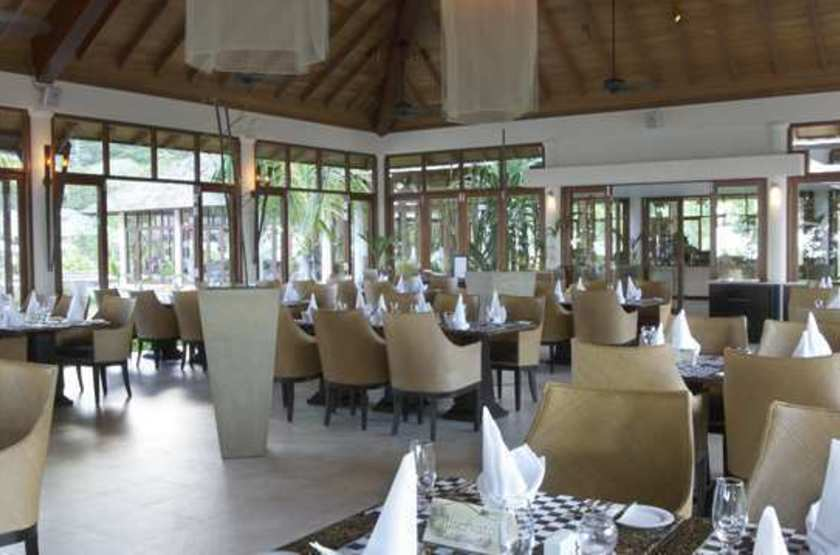Labriz Island Lodge, Silhouette, Seychelles, restaurant