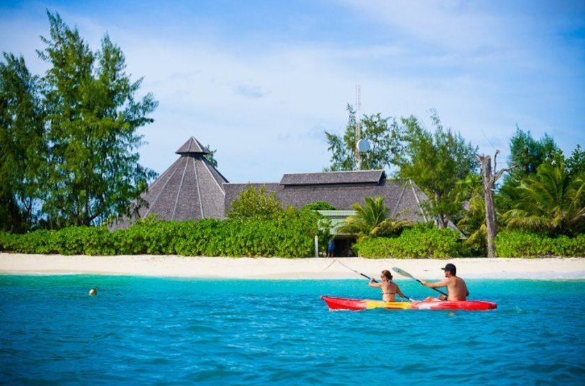 Denis Island Lodge, Seychelles, kayak