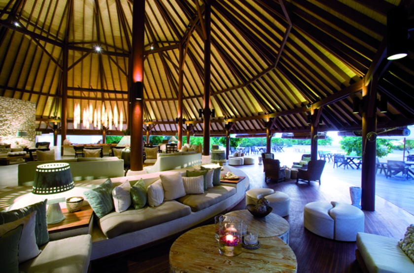 Denis Island Lodge, Seychelles, lounge