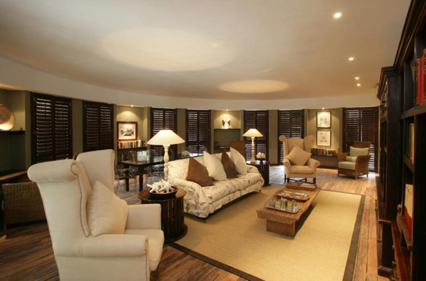 Denis Island Lodge, Seychelles, lounge