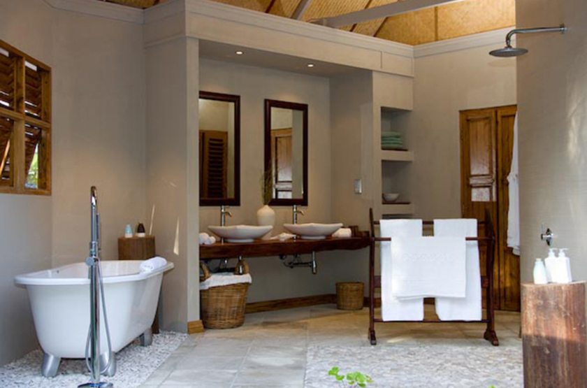 Denis Island Lodge, Seychelles, salle de bains