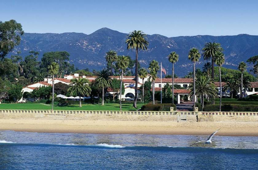 Four Seasons, Santa Barbara, Etats Unis, plage