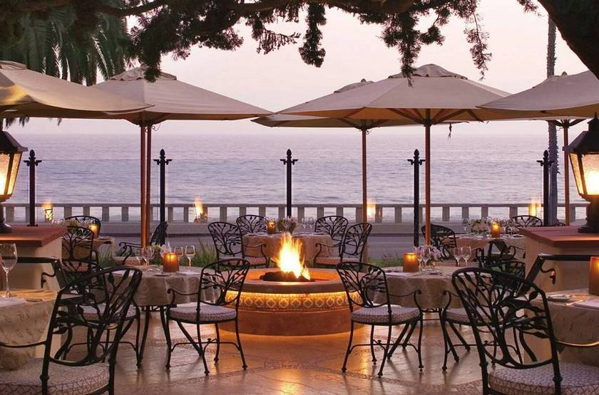 Four Seasons, Santa Barbara, Etats Unis, terrasse