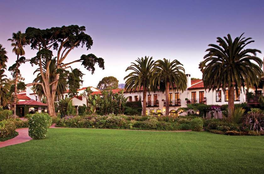 Four Seasons, Santa Barbara, Etats Unis, jardins