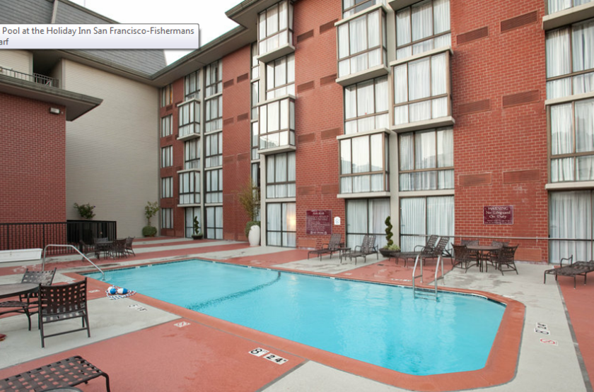 Holiday Inn Fisherman Wharf, San Francisco, Etats Unis, piscine