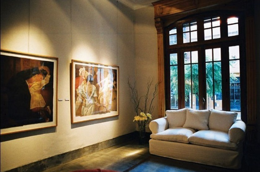 CasaSur Art Hôtel, Buenos Aires, Argentine, salon