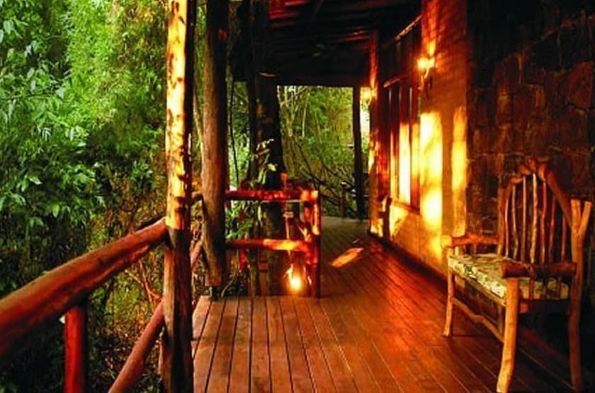 La Aldea de la Selva Lodge, Iguazu, Argentine, terrasse