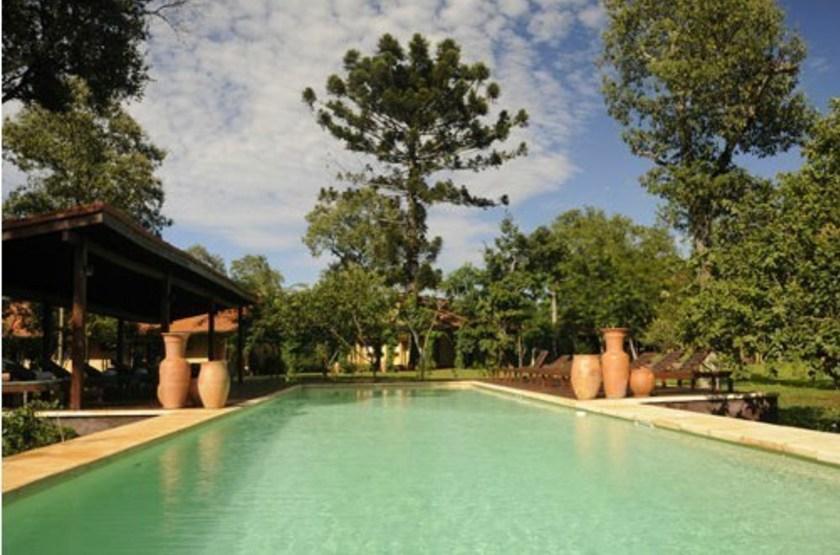Posada Puerto  Bemberg, Argentine, piscine