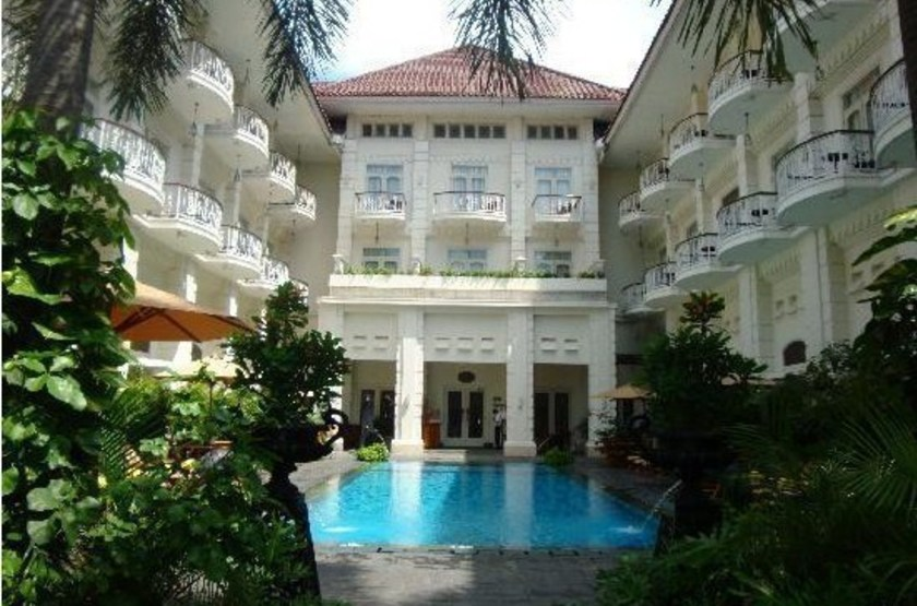 Phoenix Jogjakarta, Java, Indonésie, piscine