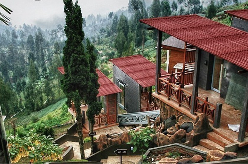 Bromo Cottages Hotel, Java, Indonésie, emplacement