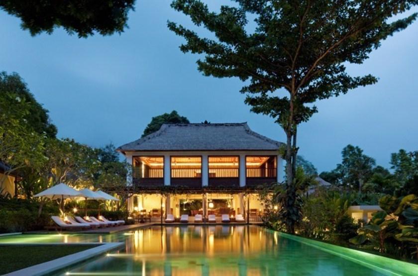 Uma Ubud, Bali,  Indonésie, vue d'ensemble