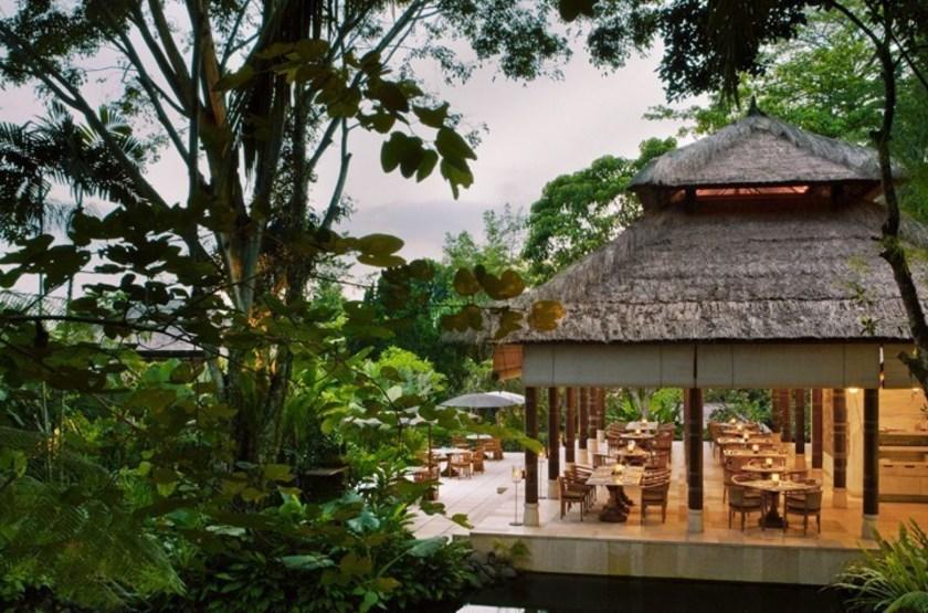 Uma Ubud, Bali,  Indonésie, restaurant