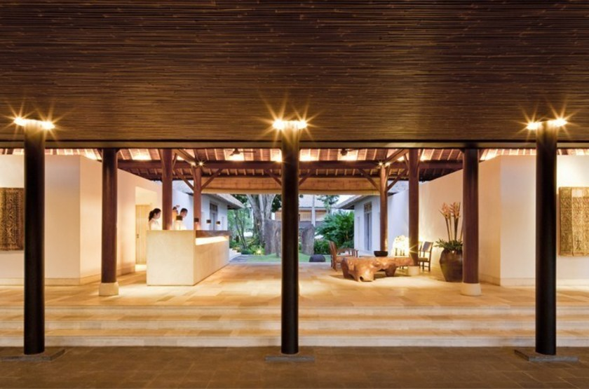 Uma Ubud, Bali,  Indonésie, lobby