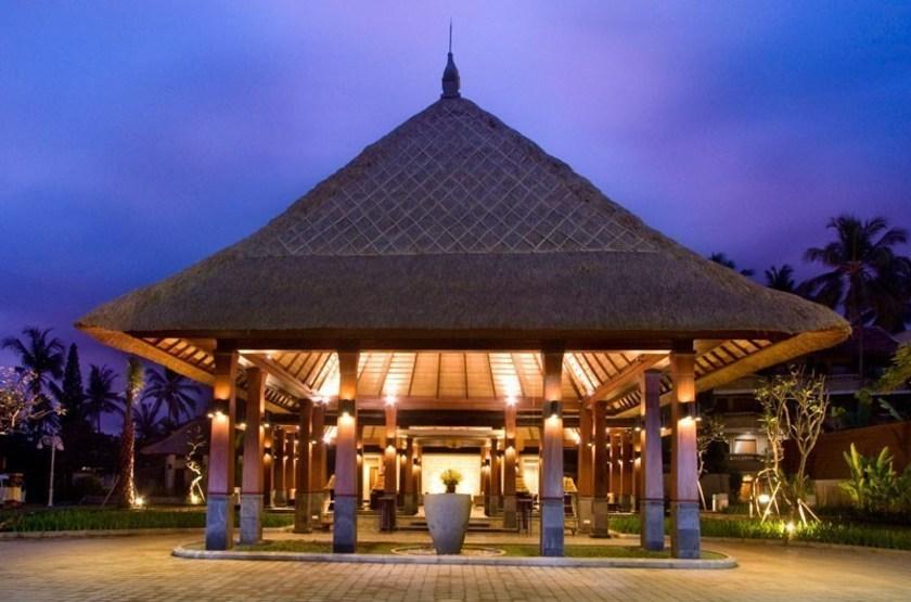 Rama Candidasa, Bali, Indonésie, entrée
