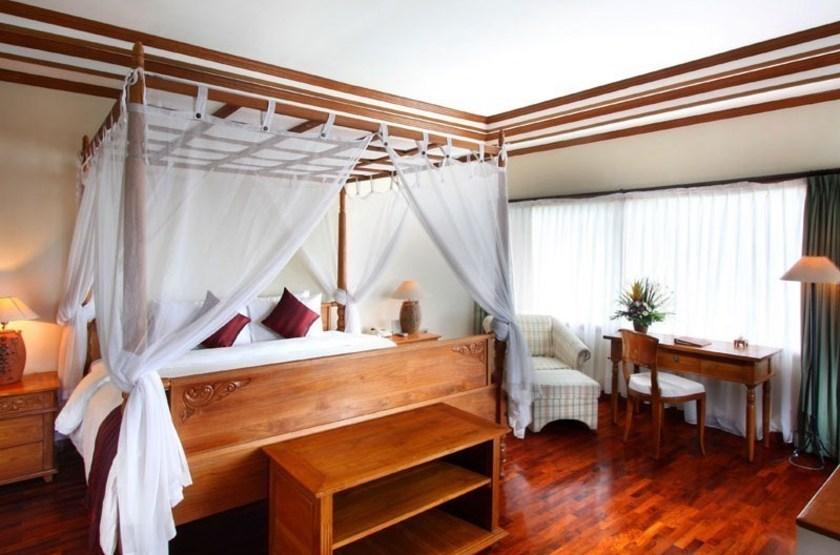 Rama Candidasa, Bali, Indonésie, chambre