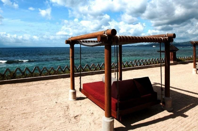 Rama Candidasa, Bali, Indonésie, plage