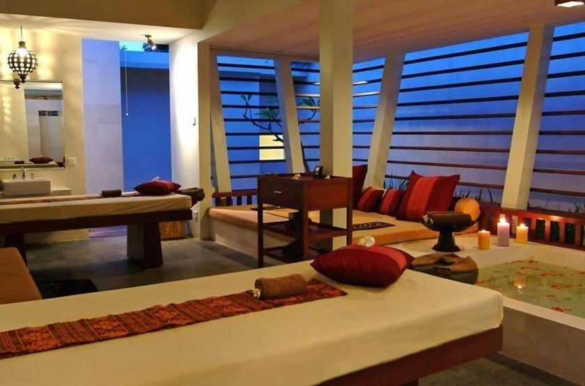 Rama Candidasa, Bali, Indonésie, Spa