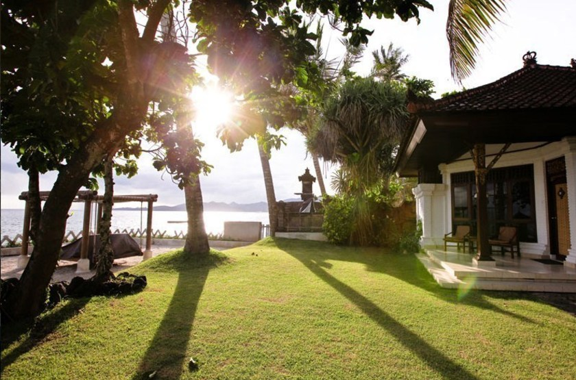 Rama Candidasa, Bali, Indonésie, villa