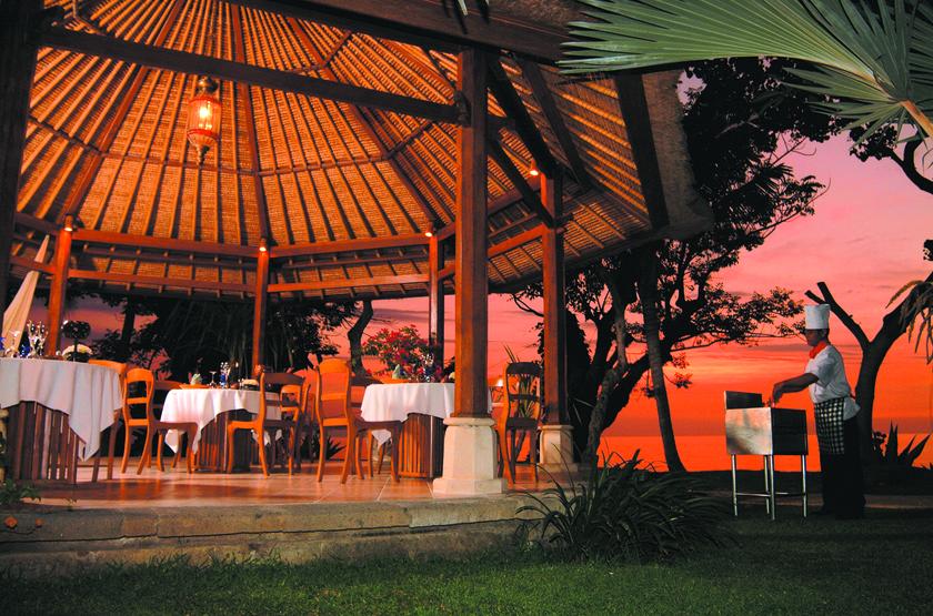 Puri Bagus Lovina, Bali, Indonésie, restaurant