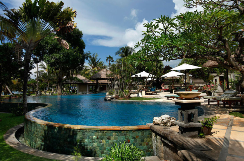 Puri Bagus Lovina, Bali, Indonésie, piscine