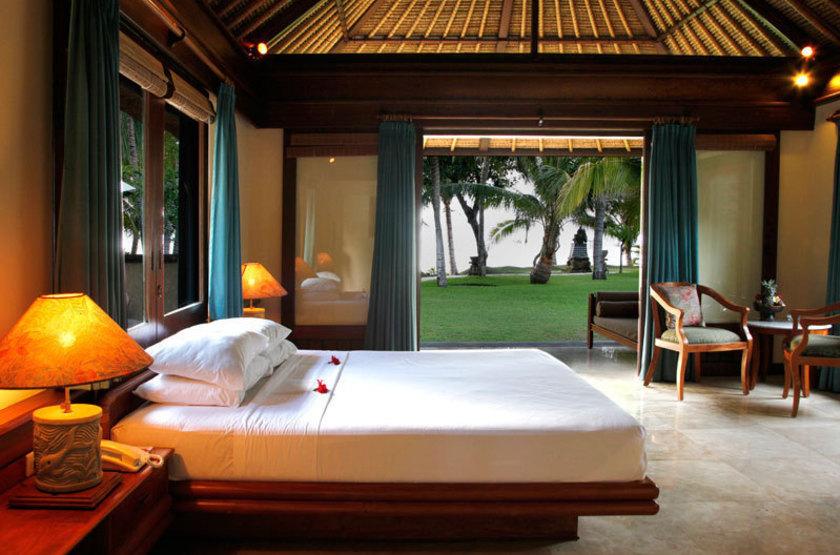 Puri Bagus Lovina, Bali, Indonésie, chambre