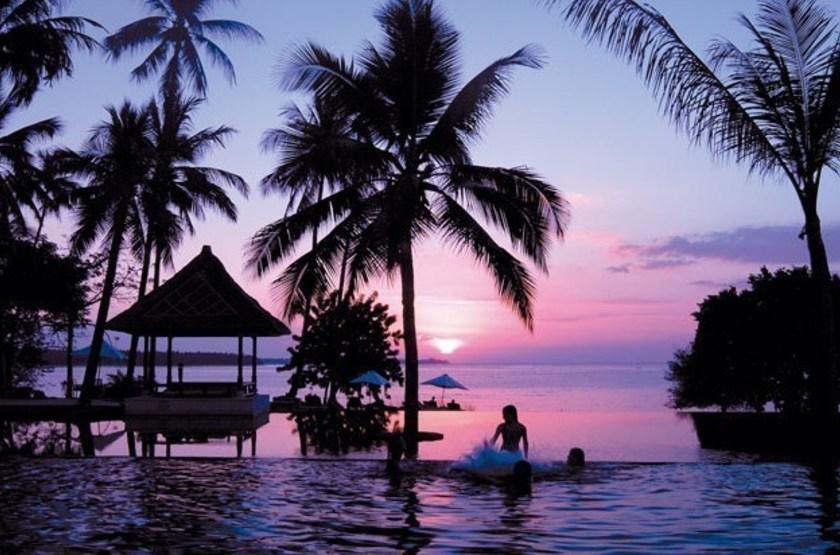 Oberoi lombok   lombok   coucher de soleil slideshow