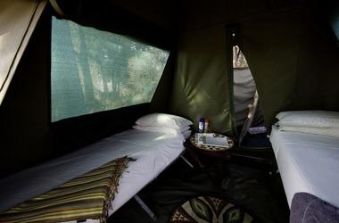 Xigera mokoro trails int rieur de le tente listing