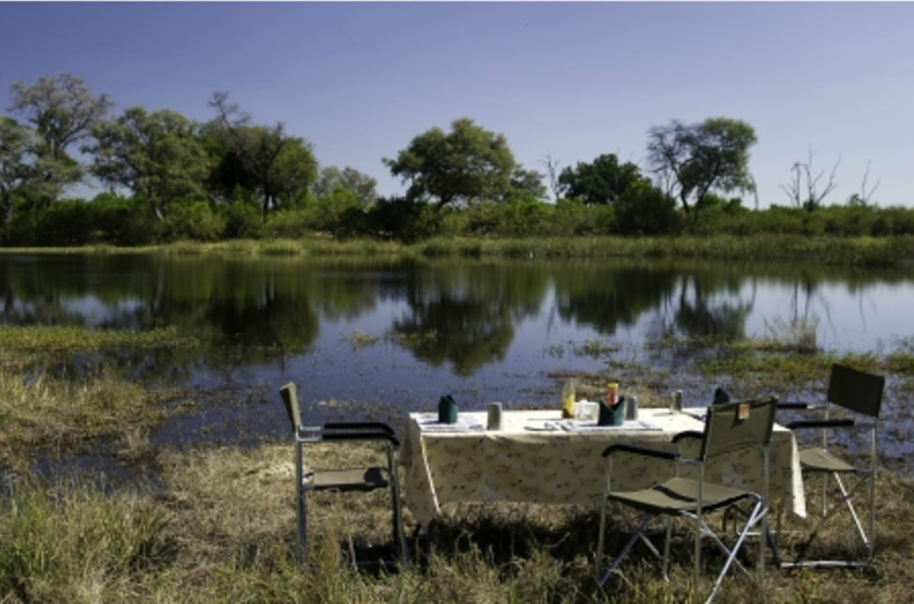 The Adventurer Camps, Botswana, breakfast