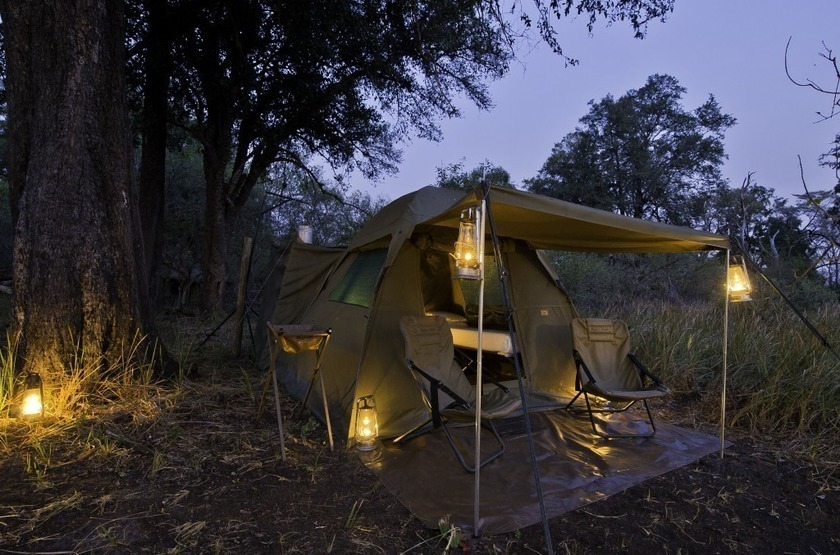 The Adventurer Camps, Botswana, extérieur
