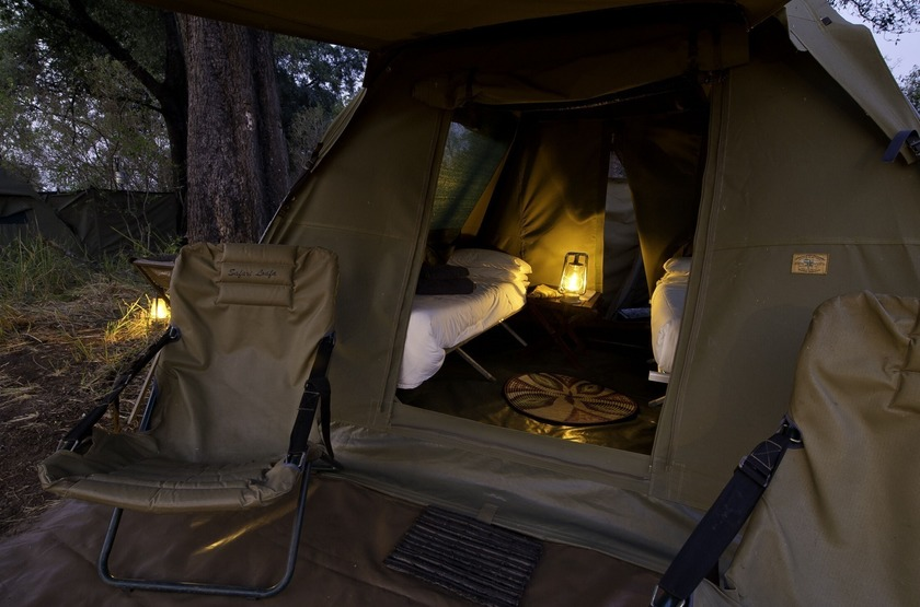The Adventurer Camps, Botswana, tente