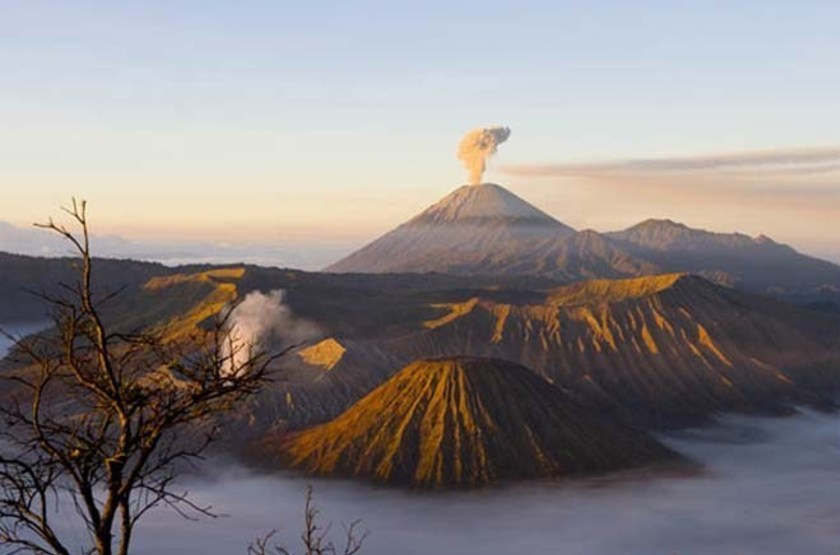 Java banana   bromo   paysage slideshow
