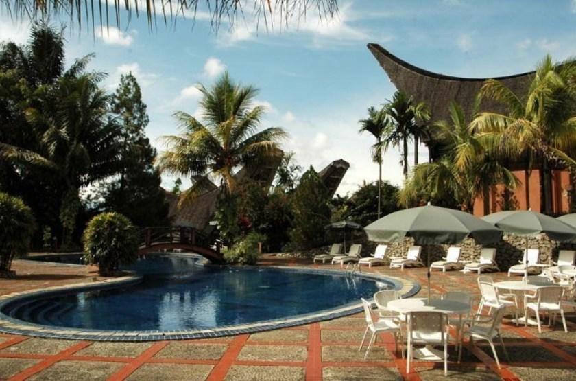 Toraja Heritage Rantepao, Sulawesi, Indonésie, piscine