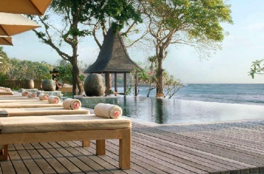 Qunci Villas, Lombok, Indonésie, piscine