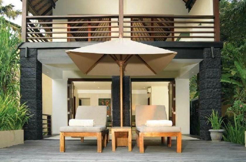 Qunci Villas, Lombok, Indonésie, terrasse