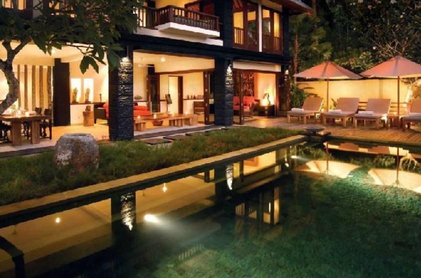 Qunci Villas, Lombok, Indonésie, pool villa