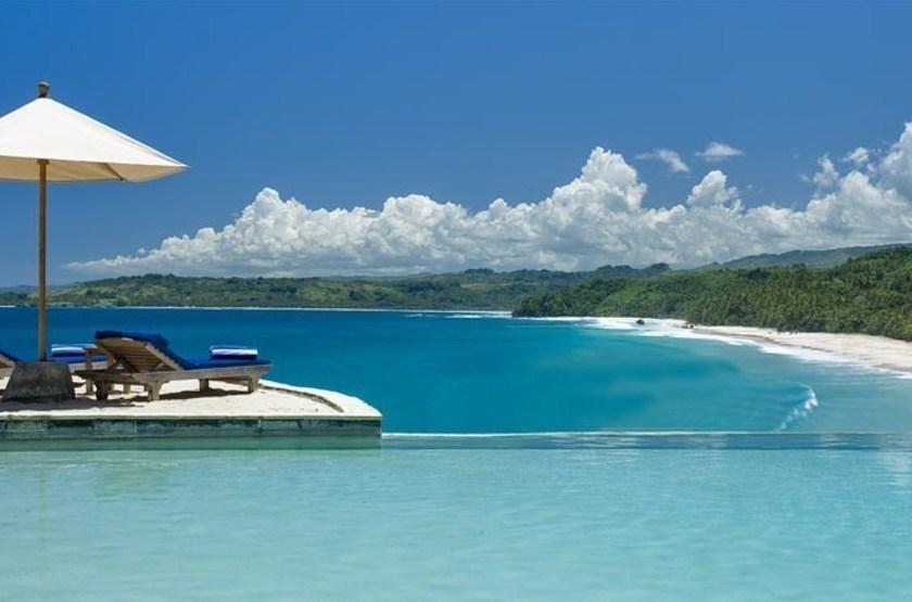 Nihiwatu Resort Sumba Island, Indonésie, piscine et plage