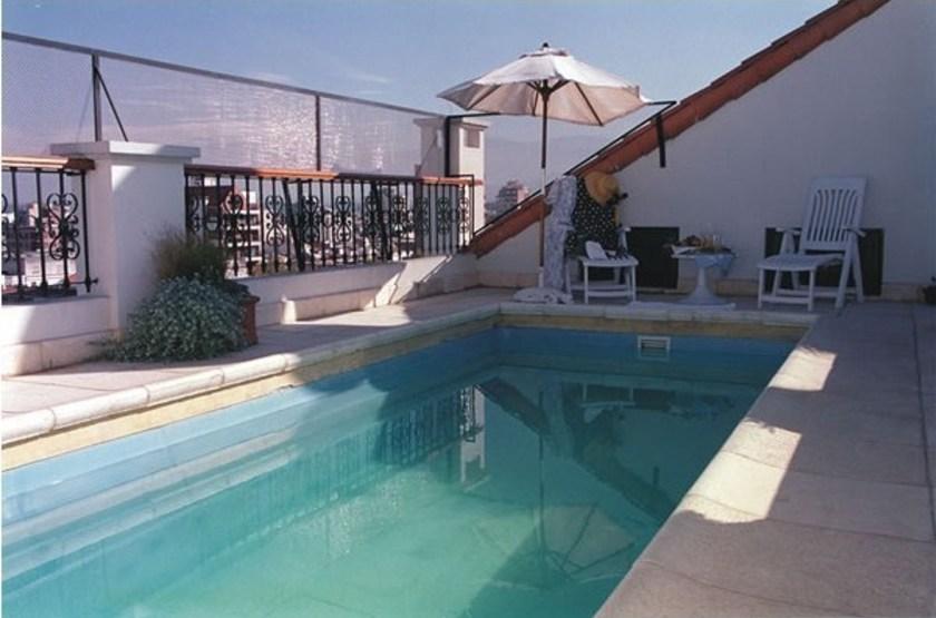 Solar de la plaza   piscine slideshow