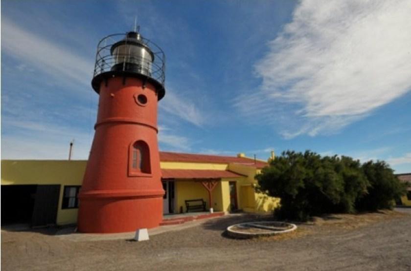 Faro Punta Delgada, Péninsule de Valdés, Argentine, extérieur